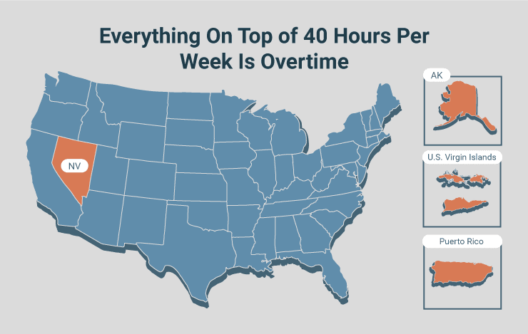 Everything On Top of 40 Hours Per Week Is Overtime