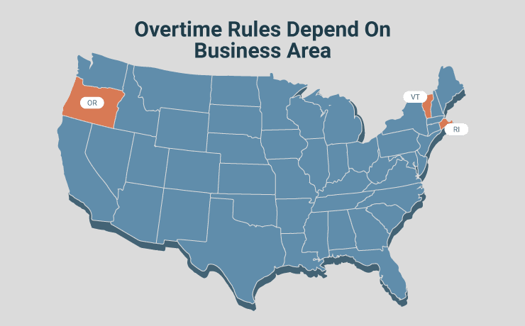 Overtime Rules Depend On Business Area