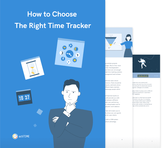 How to Choose the Right Time Tracker with actiTIME