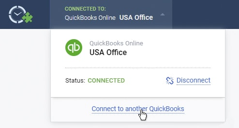 Connect to another QuickBooks