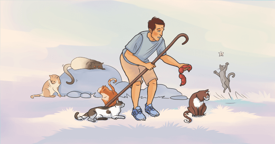 Managing projects is like herding cats