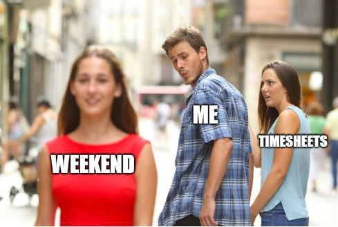Timesheet meme for managers #9