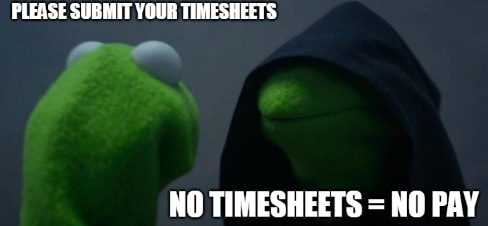 Timesheet meme for accountants #4