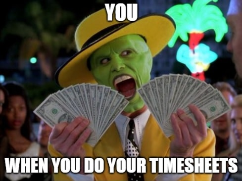 Timesheet meme for accountants #1