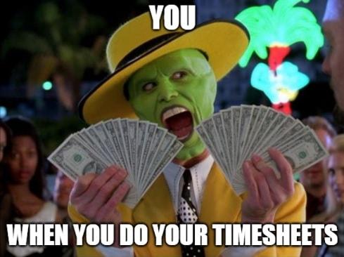 Timesheet meme for accountants #1