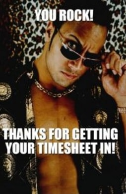 Timesheet meme for managers #8