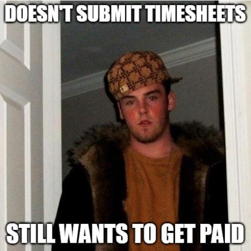 Timesheet meme for accountants #7