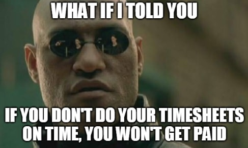Timesheet meme for accountants #3