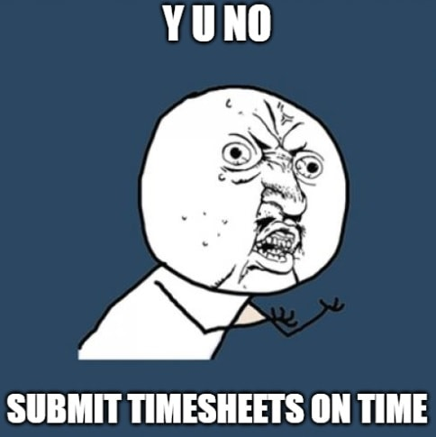 Timesheet meme for managers #5