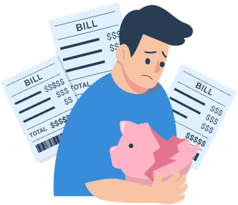 Financial insolvency and loss of funds due to poor project budgeting and cost control