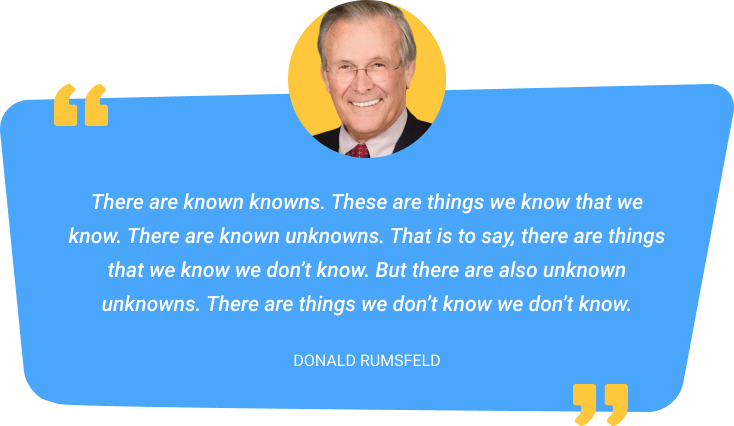 Donald Rumsfeld quote