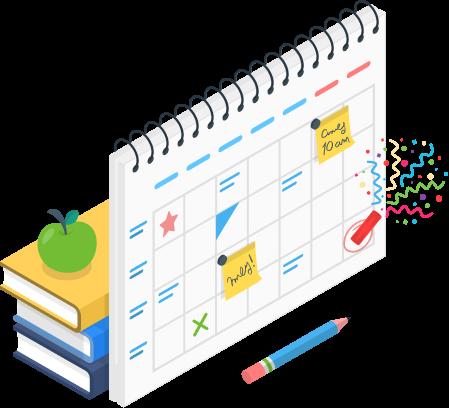 Schedule planning concept
