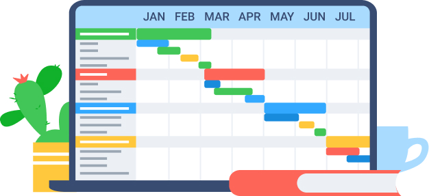 Project Timeline Template Free from www.actitime.com