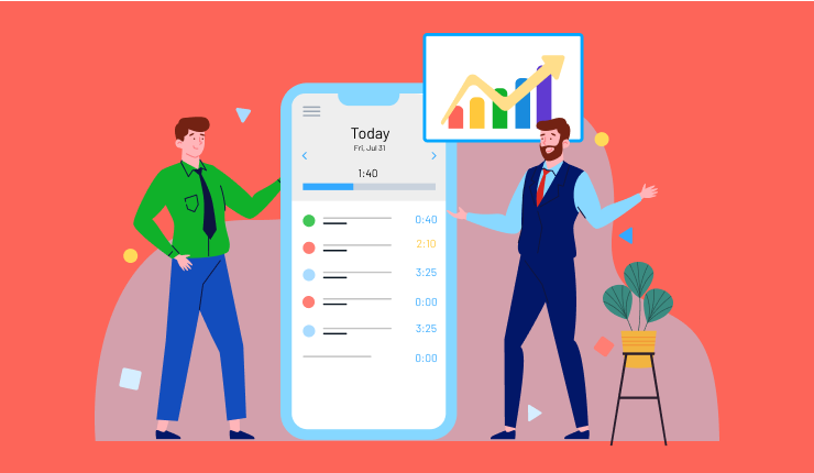 Making a Productive Team with a Timesheet App