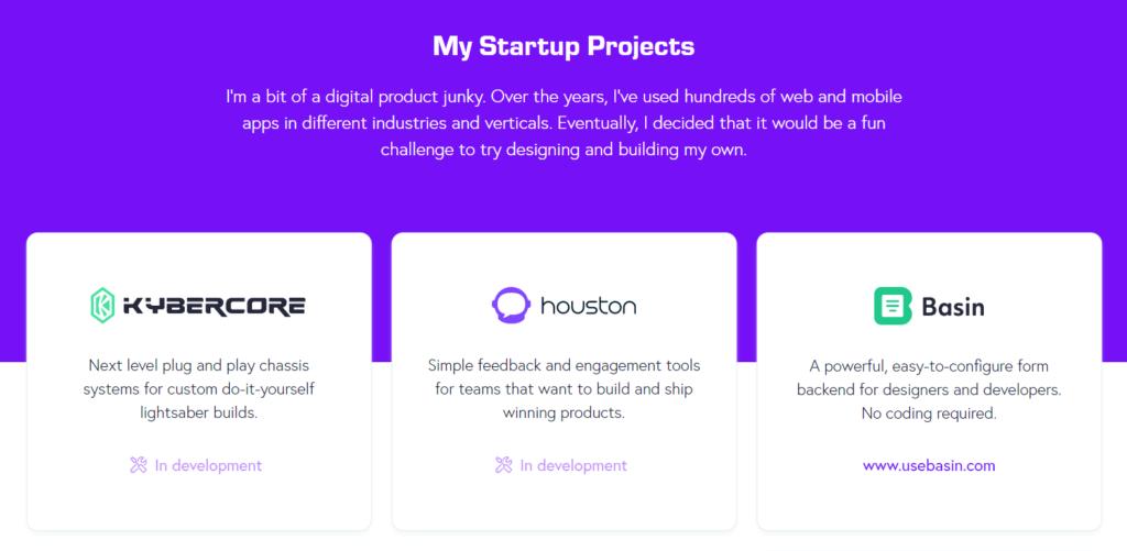 Matt Farley's developer portfolio