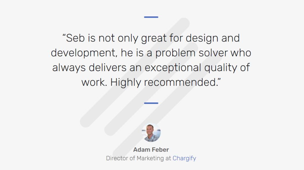 Seb Kay's developer portfolio