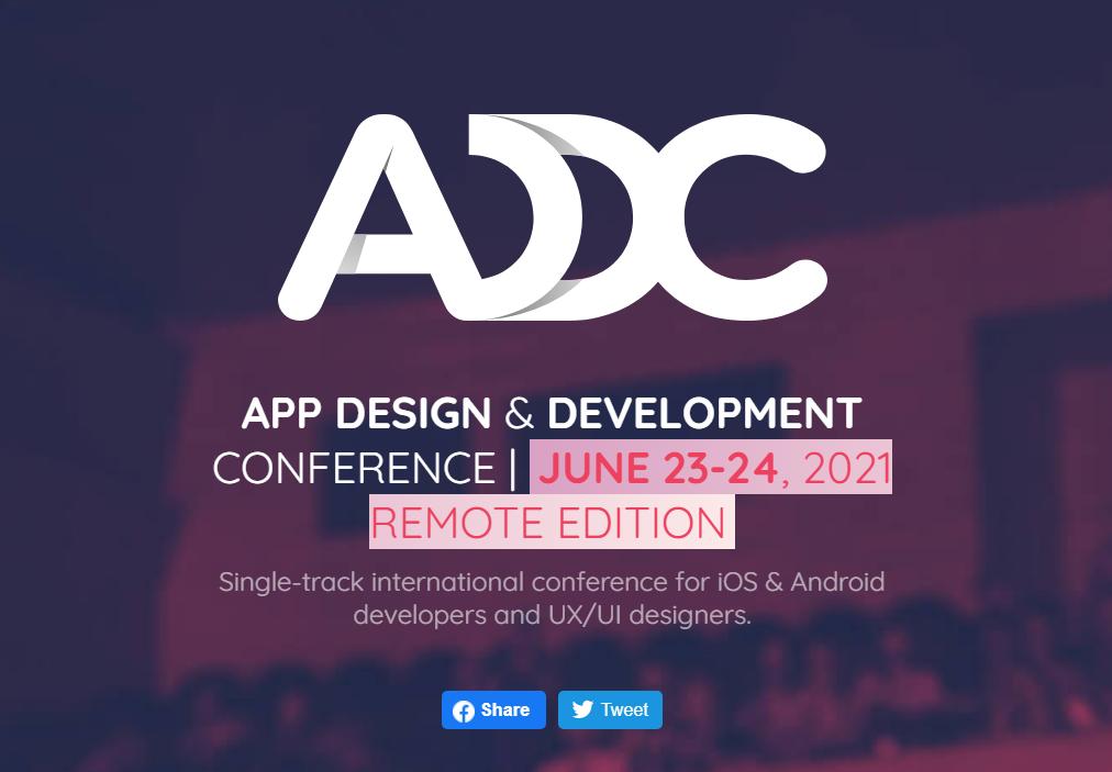 ADDC – App Design & Development Conference Developer Conference