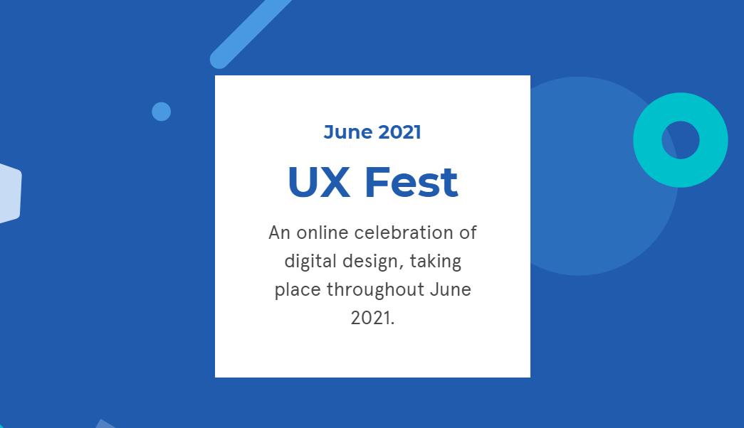 UX Fest 2021 Developer Conference